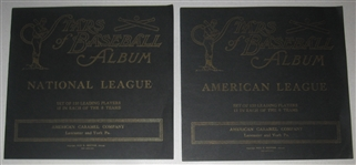 1922 E120 Stars of Baseball Albums, American Caramel Co., Lot of (2)