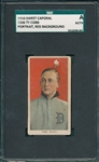 1909-1911 T206 Ty Cobb, Red Portrait, Sweet Caporal Cigarettes SGC Authentic