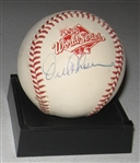 1988 WS MVP Orel Hershiser, Signed Ball, PSA/DNA