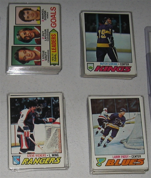 1977-78 Topps Hockey Partial Set (185/264) W/ Orr