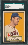 1952 Topps #054 Leo Kiely SGC 60 *Red Back*