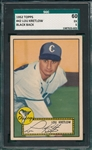 1952 Topps #042 Lou Kretlow SGC 60 *Black Back*