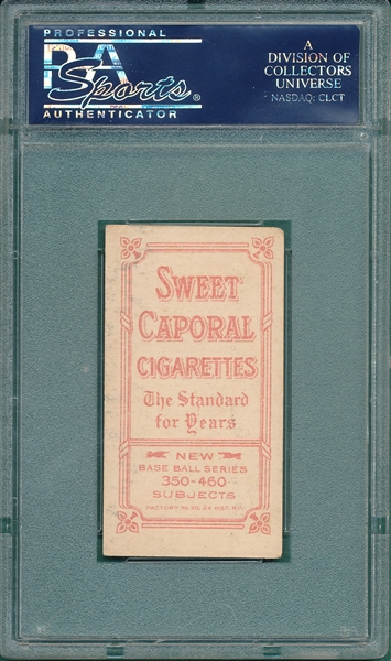 1909-1911 T206 Tannehill, Chicago, Sweet Caporal Cigarettes PSA 4