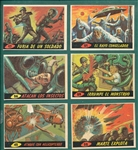 1966 Marte Ataca (Mars Attacks, Argentina) Lot of (10)