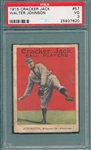 1915 Cracker Jack #57 Walter Johnson PSA 3