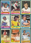 1976 Topps Baseball Complete Set (660) W/ Eckersley, Rookie