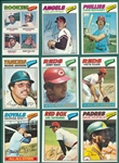 1977 Topps Baseball Complete Set (660) W/ Dawson, Rookie