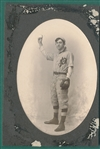 1900s Oval Photo of Baseball Player
