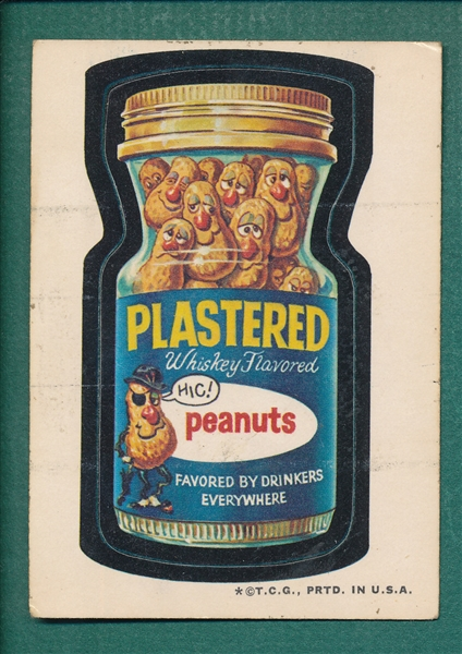1970s Topps Wacky Packages Plastered W/ Black Ludlow Back