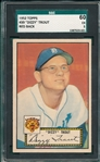1952 Topps #39 Dizzy Trout SGC 60 *Red Back*
