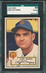 1952 Topps #103 Cliff Mapes SGC 80