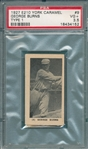 1927 E210-1 #9 George Burns York Caramels PSA 3.5