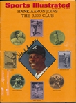 Hank Aaron Signed Sports Illustrated