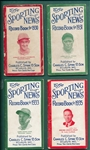 1930-40 The Sporting News Record Books Lot of (12)