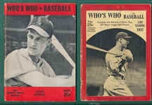 1926-1950 Lot of (16) Baseball Publications W/ Whos Who in Baseball 1937 Gehrig Cover