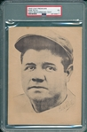 1949 Leaf Premium Babe Ruth, Light Background/No Text, PSA 1 *Presents Better*