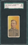 1909-1911 T206 Jennings, Portrait, SGC 30