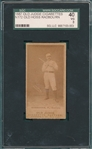 1887 N172 Old Hoss Radbourn Old Judge Cigarettes SGC 40 *Dark Photo*