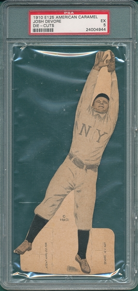 1910 E125 Josh Devore American Caramel PSA 5 *None Graded Higher*