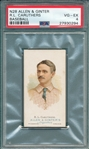 1887 N28 R L Caruthers Allen & Ginter Cigarettes PSA 4 *Presents Better*
