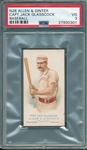 1887 N28 Jack Glasscock Allen & Ginter Cigarettes PSA 3 *Presents Better*