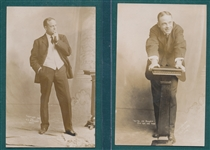 1900s RPPC Billy Sunday, Lot of (5)