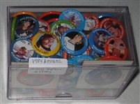 1984 Fun Foods Pins Lot of (100+) W/ Many HOFers