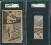 1922-36 White Sox Type Cards, Lot of (4)