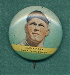1932 Orbit Gum Pins Jimmie Foxx