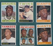 1964 Topps Lot of (144) W/ Aaron