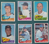 1965 Topps Lot of (165) W/ Drysdale