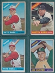 1966 Topps Lot of (179) W/ Pete Rose (2)