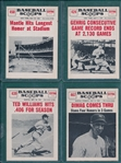 1960 Baseball Scoops Lot of (38) W/ Mantle, DiMaggio & Gehrig