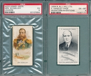 1889 N222 Kinney Bros., Scobeloff & 1934 R & J Hill, Page, PSA, Lot of (2)