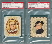 1934 Garbaty Cigarettes Lot of (6) W/ Garbo PSA