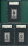 1915 Cope Bros & Co. LTD, Lot of (3) W/ #41 Storbeck, SGC