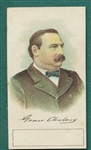 1888 Yum Yum Tobacco Presidents, Grover Cleveland
