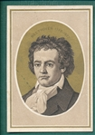 1880s Beethoven Trade Card