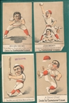 1880s Lot of (19) Baseball Trade Cards W/ H804-4s
