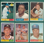 1961 Topps Lot of (281) W/ Mays