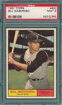 1961 Topps #430 Bill Mazeroski PSA 9 *MINT* *SP*