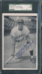Roberto Clemente Signed Postcard SGC Authentic