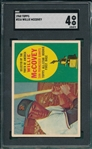 1960 Topps #316 Willie McCovey SGC 4 *Presents Better* *Rookie*