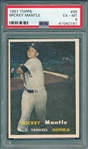 1957 Topps #95 Mickey Mantle PSA 6