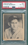 1939 Play Ball #50 Charley Gehringer PSA 4