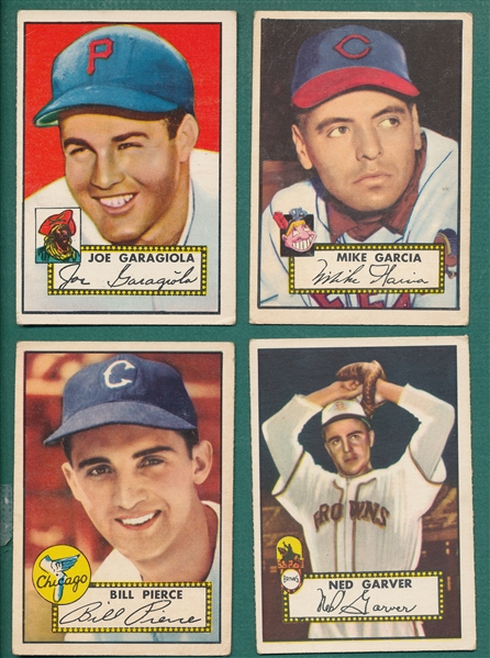 1952 Topps Lot of (49) W/ Garagiola