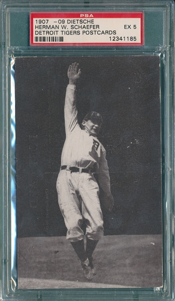1907-09 Dietsche PC, Herman Schaefer PSA 5