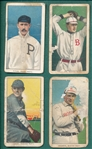 1909-1911 T206 Lot of (4) W/ Titus
