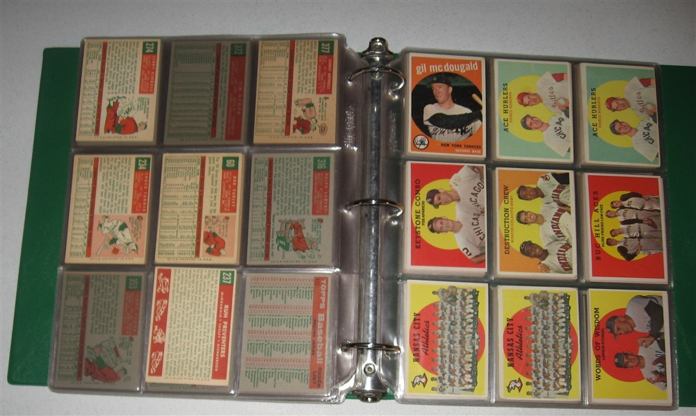 1959 Topps Lot of (296) W/ Musial