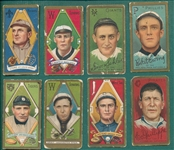 1911 T205 Lot of (8) W/ Gray No Stats